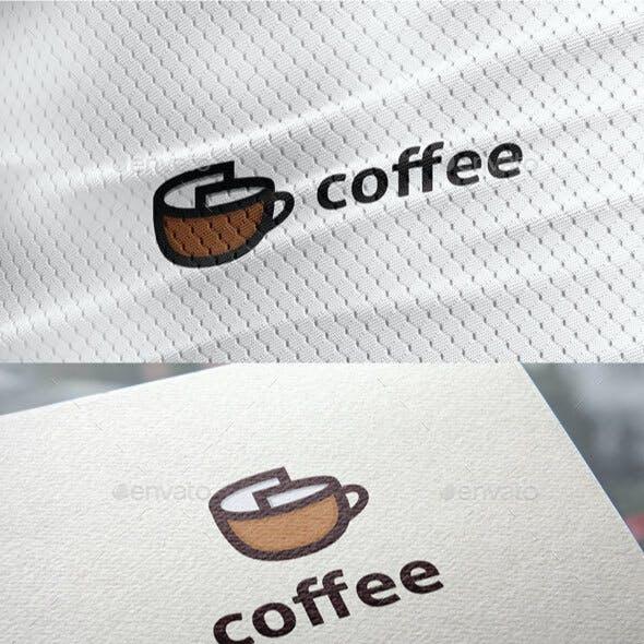 Coffee Document Logo
