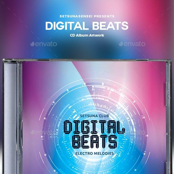 Digital Beats CD Album Artwork