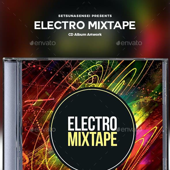 Electro Mixtape CD Album Artwork