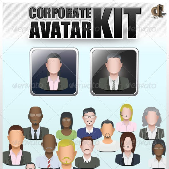 Corporate Avatar Kit