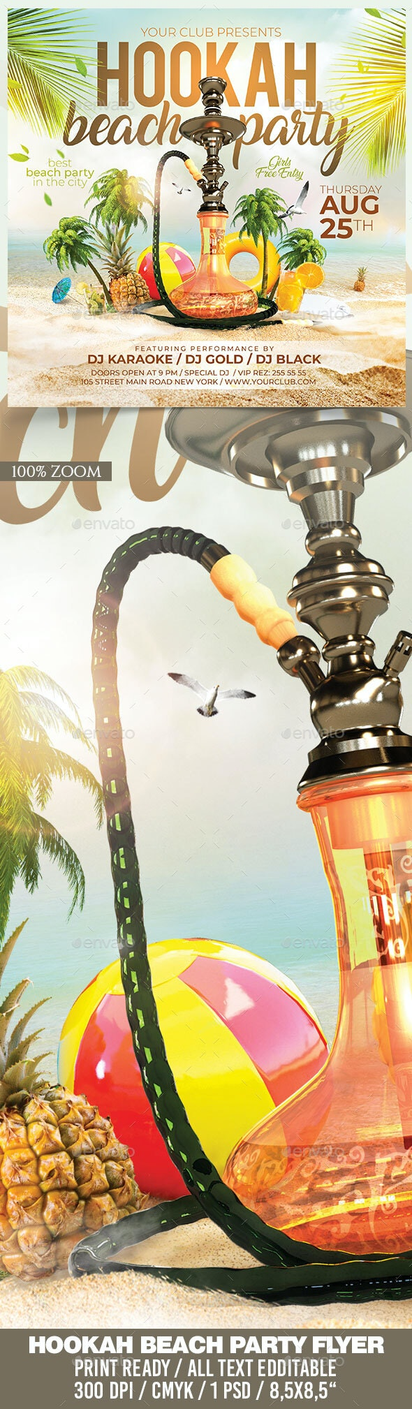 Hookah Beach Party - Clubs & Parties Events
