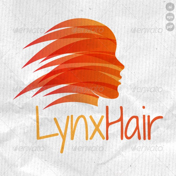 Lynx Hair Logo