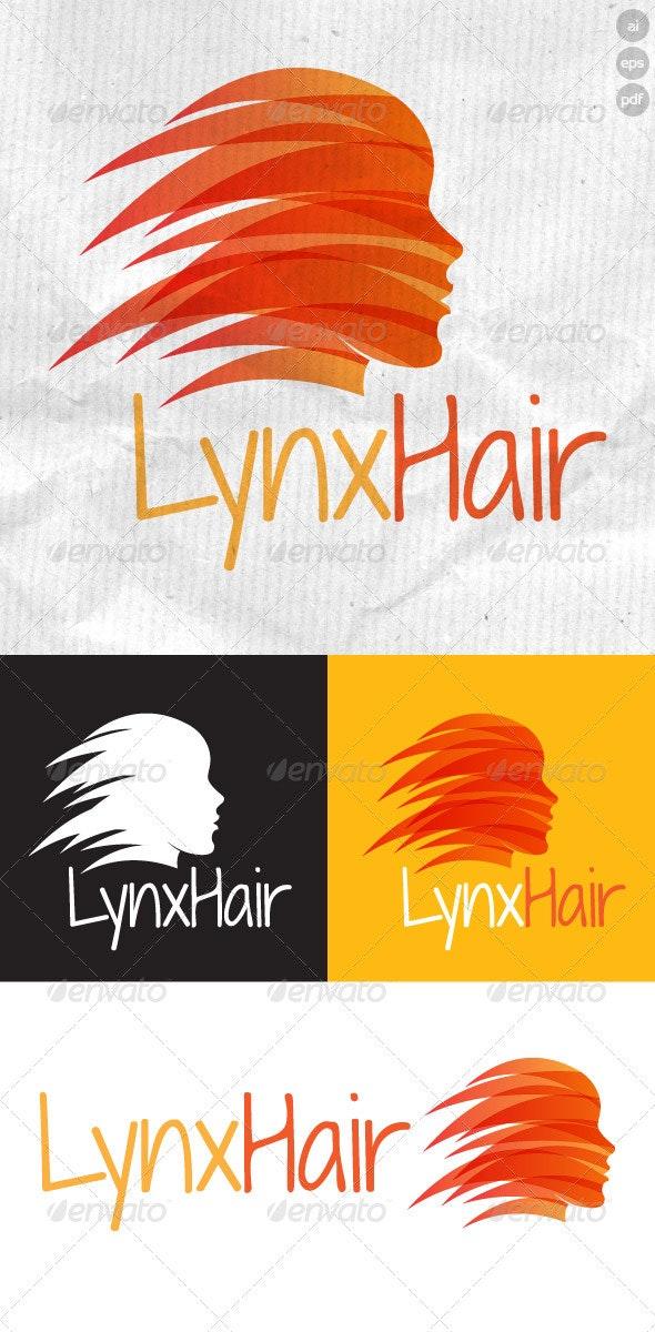Lynx Hair Logo - Humans Logo Templates