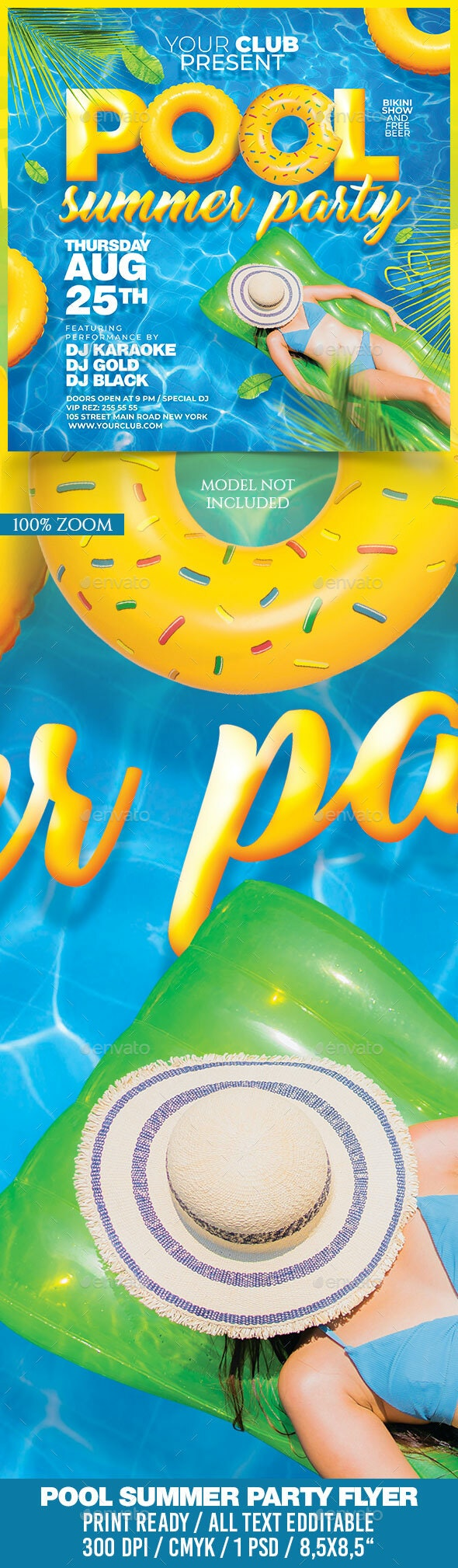 Pool Summer Party - Clubs & Parties Events