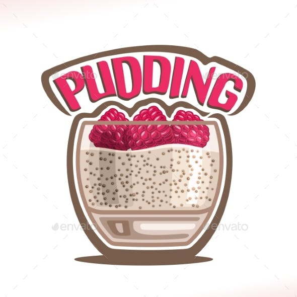 Vector Logo for Pudding