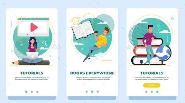 Onboarding Screens - Concepts Business