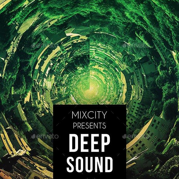 Deep Sound Music Album Cover Artwork Template