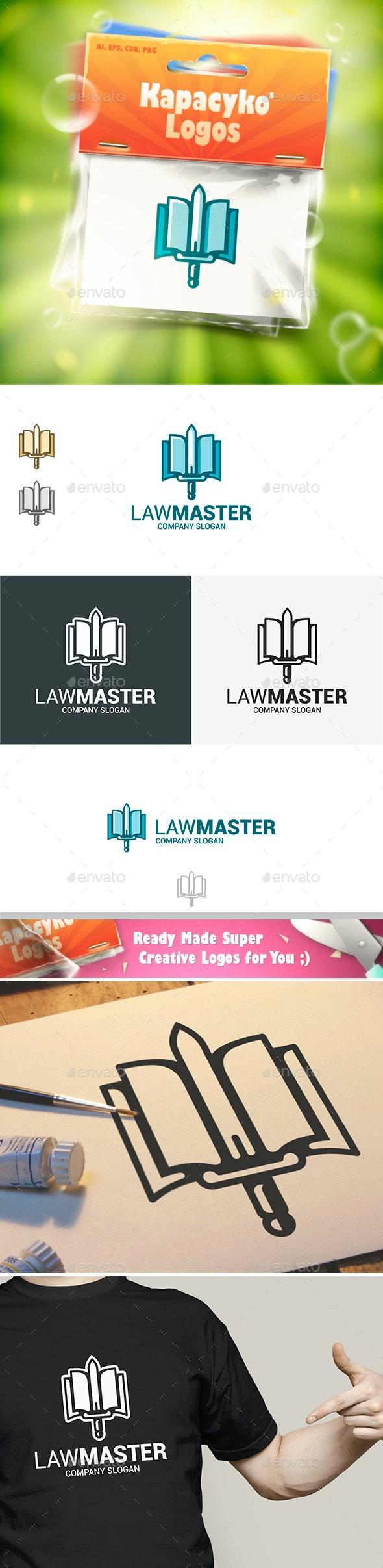 Law Master Logo - Abstract Logo Templates