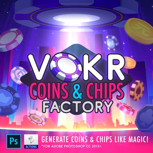 Vokr: Coins & Chips Factory