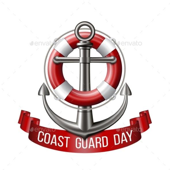 Coast Guard Day Greeting Card - Miscellaneous Seasons/Holidays