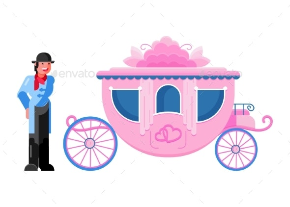 Carriage Coach Vector Vintage Transport - Man-made Objects Objects
