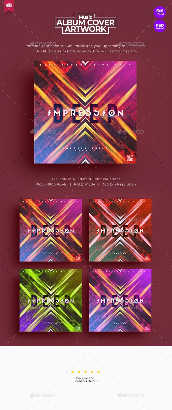 Deep Impression - Music Album Cover Artwork - Miscellaneous Social Media