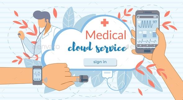 Cloud Service - Health/Medicine Conceptual