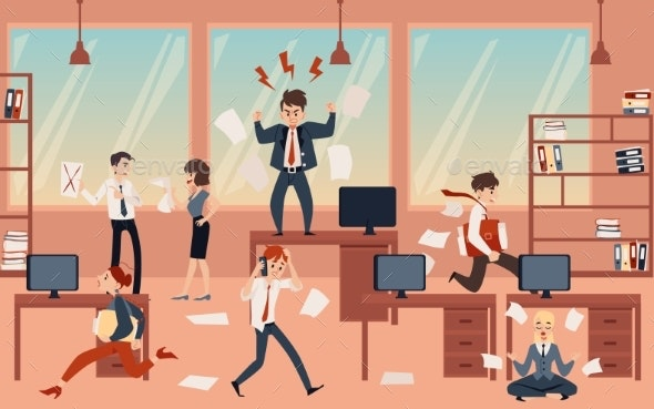 The Concept of Office Chaos in Business - Concepts Business