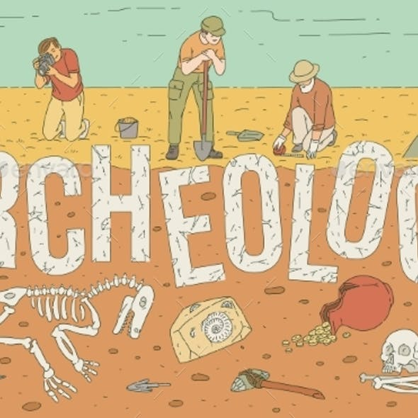 Archaeological Exploration of Historical Artifacts