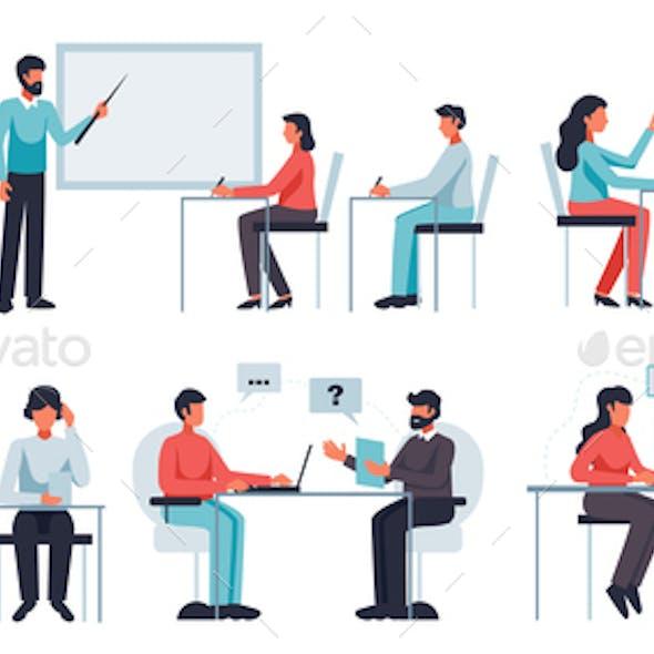 Online Learning Set