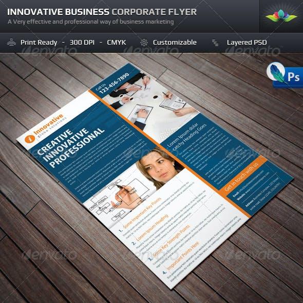 Innovative Business Corporate Flyer