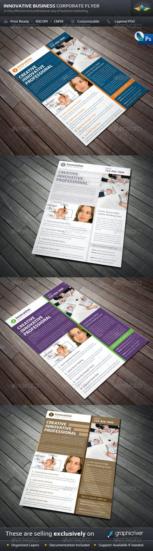Innovative Business Corporate Flyer - Corporate Flyers