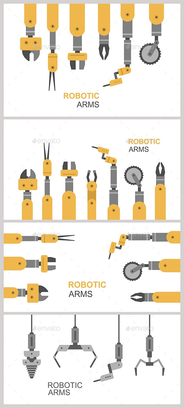 Robotic Arms - Industries Business