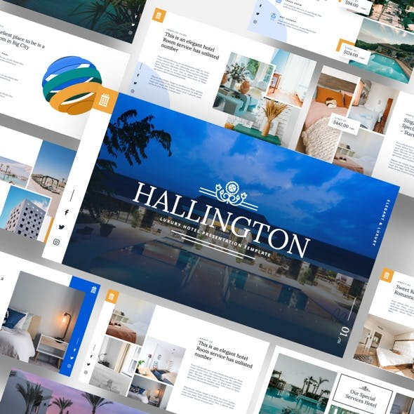 Hallington - Luxury Hotel Powerpoint Template