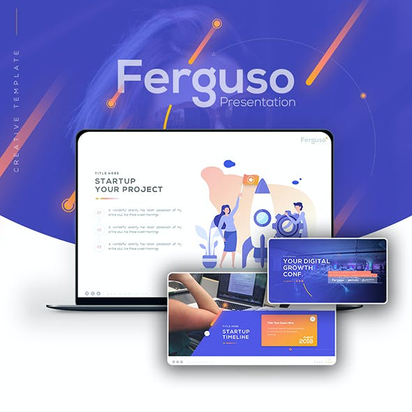 Ferguso - Creative Keynote Template