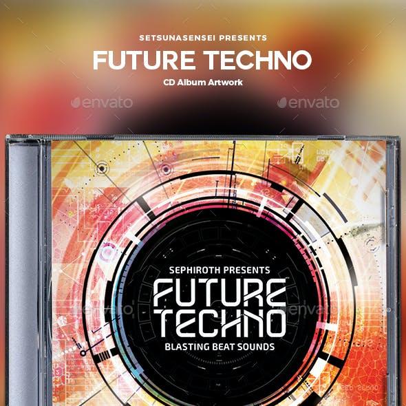 Future Techno CD Album Artwork