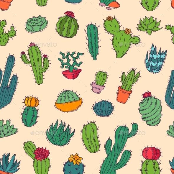 Cactus Vector - Flowers & Plants Nature