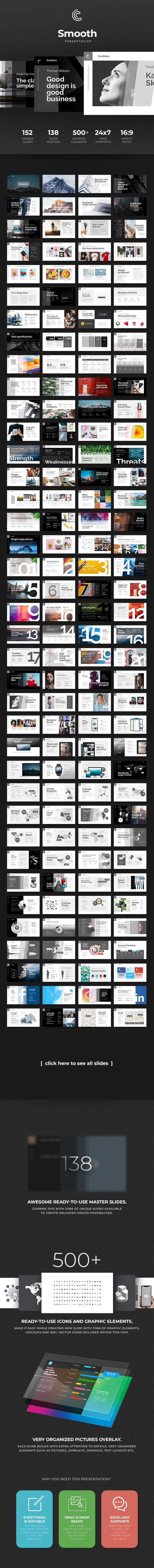 Smooth PowerPoint - PowerPoint Templates Presentation Templates