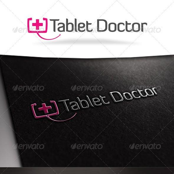 Tablet Doctor Logo Template