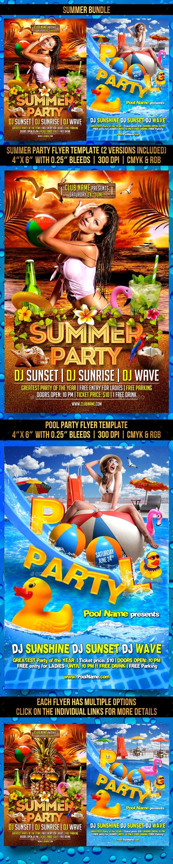 Summer Bundle - Clubs & Parties Events