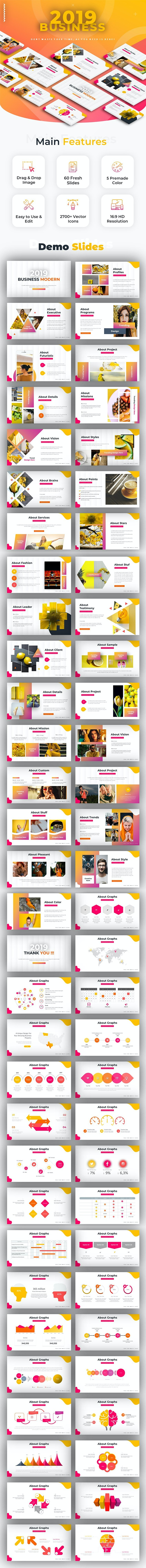 2019 Business Powerpoint - Business PowerPoint Templates