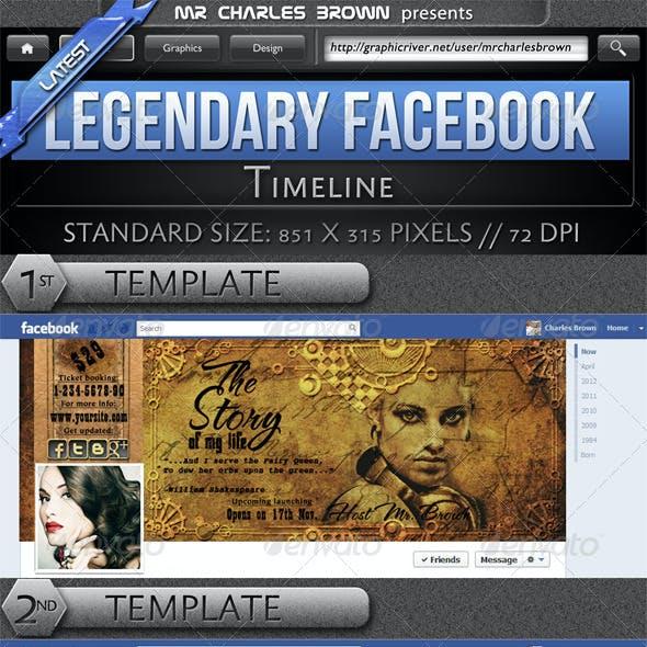 Legendary Facebook Timeline