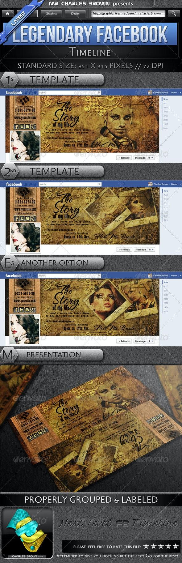 Legendary Facebook Timeline - Facebook Timeline Covers Social Media