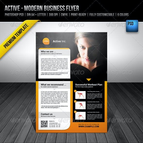Active - Modern Business Flyer
