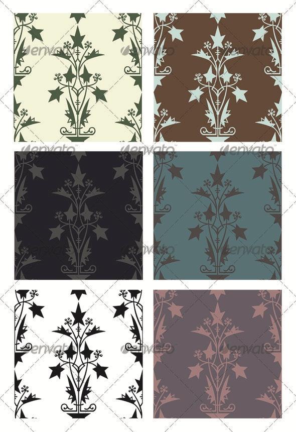 Seamless Pattern Modern - Patterns Decorative