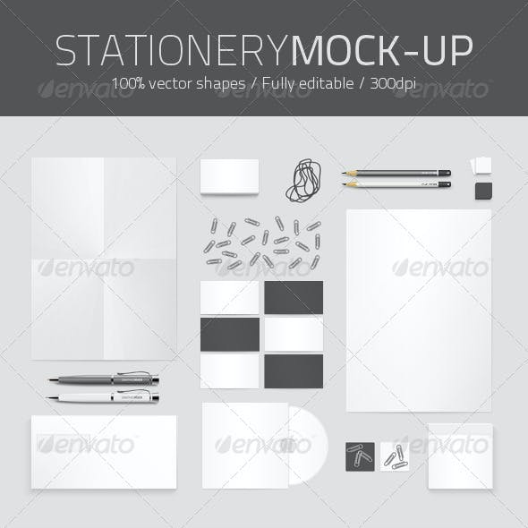 Identity and Stationery Mock-up