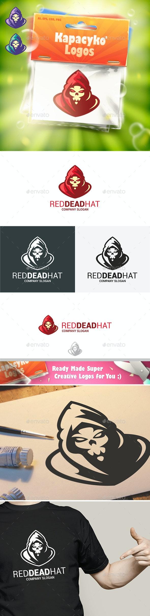 Red Dead Hat Logo - Humans Logo Templates