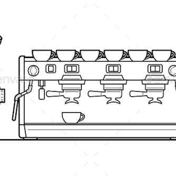 Espresso Machine set