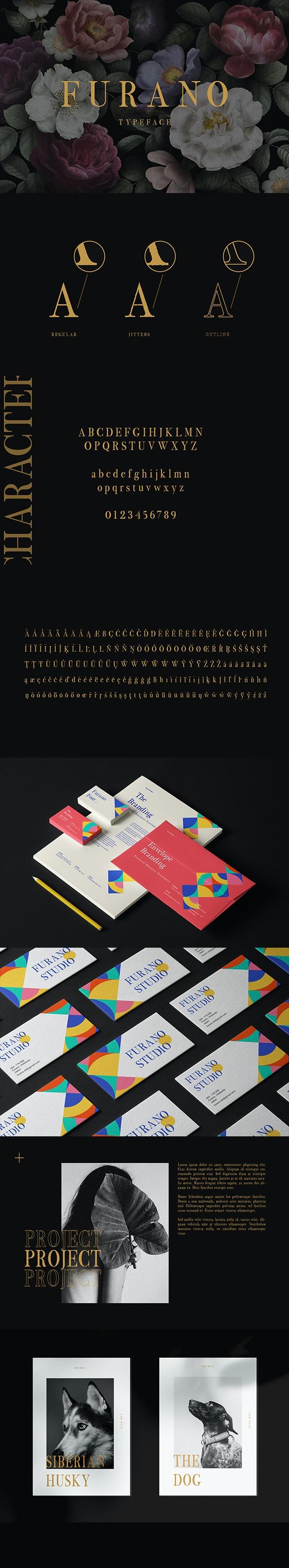 Furano Font - Serif Fonts