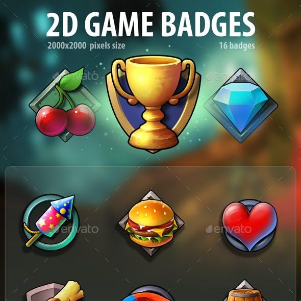 2D Game Badges