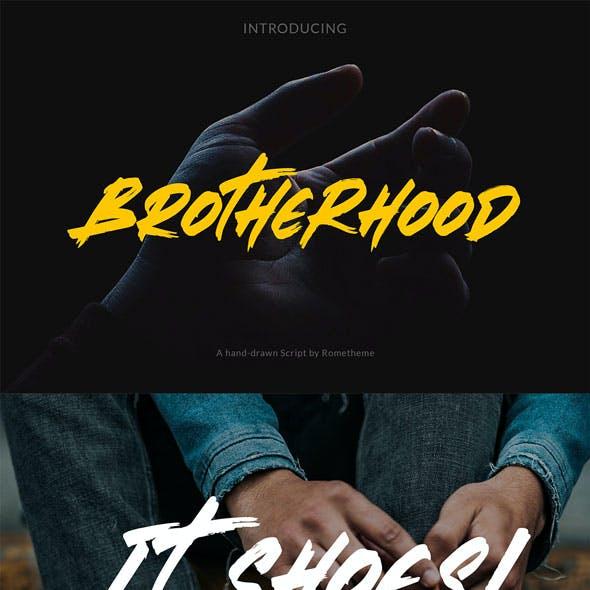 Brotherhood – Brush Script Font