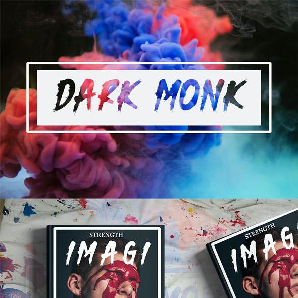 Dark Monk – Brush Font