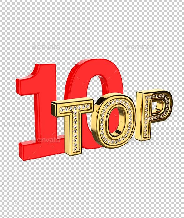 TOP 10 - Miscellaneous 3D Renders