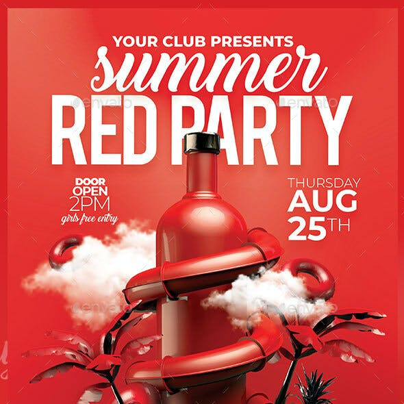 Summer Red Party
