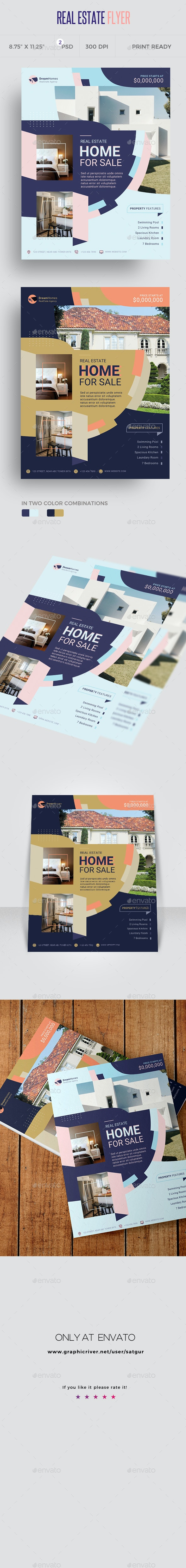 Real Estate Flyer Template - Commerce Flyers