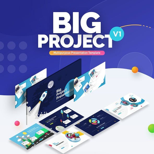 Big Project - Multipurpose Infographic Template