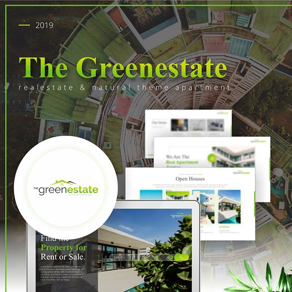 Greenestate Real Estate Keynote Template