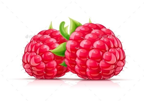 Raspberry - Food Objects