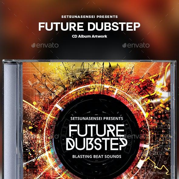Future Dubstep CD Album Artwork