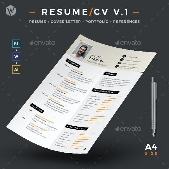 Resume/CV V.1